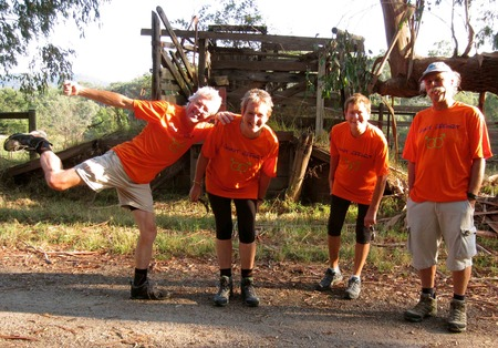 Oxfam 100 Km Trailwalk, Victoria, Australia T-Shirt Photo