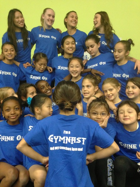 I'm A Gymnast And My Coach Loves Me! T-Shirt Photo