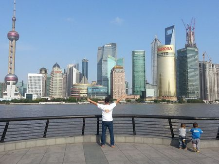 Taking Custom Ink To Shanghai, China. T-Shirt Photo