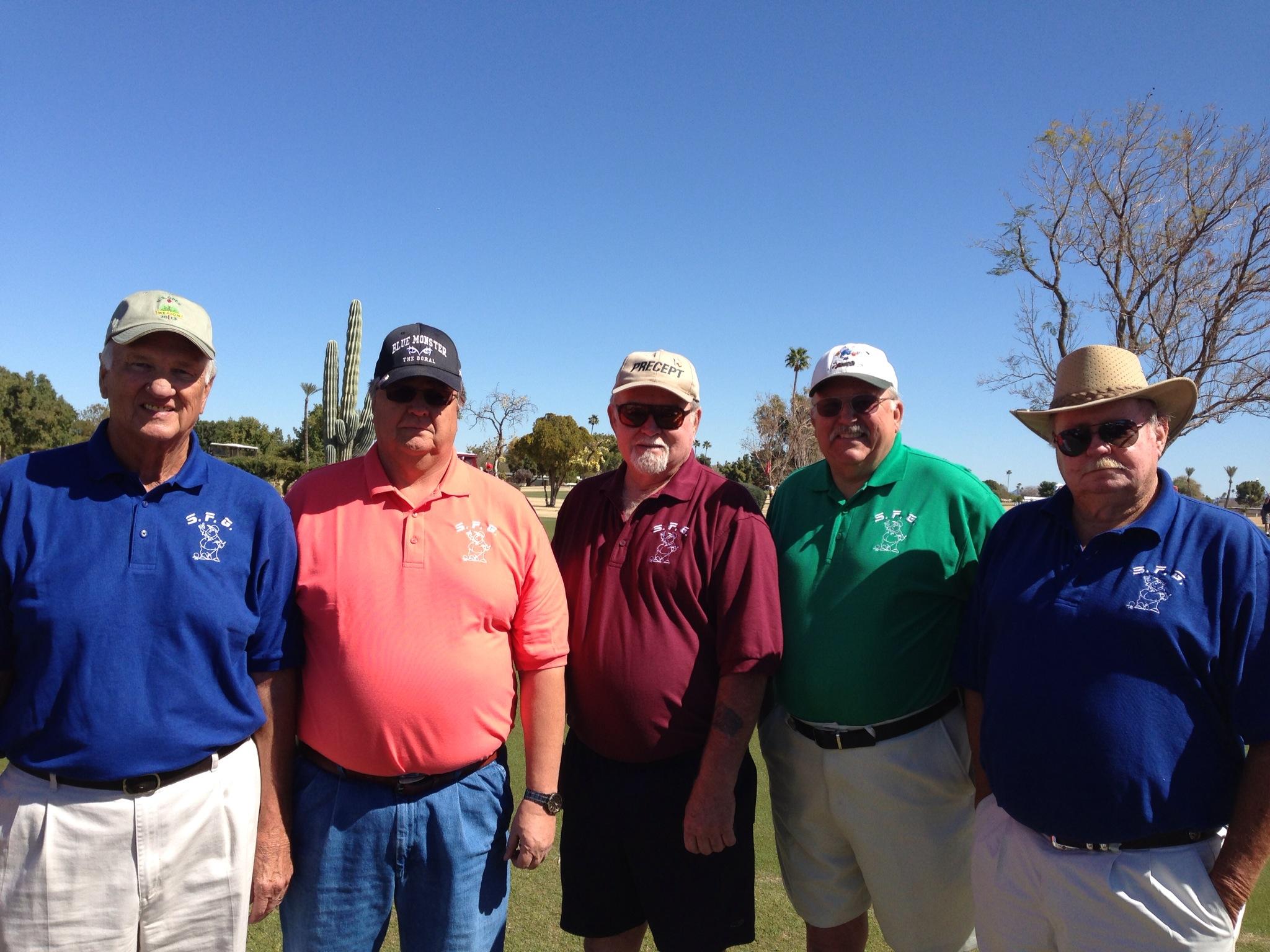 Shirt design course - Six Fat Guys Golf Club T Shirt Photo