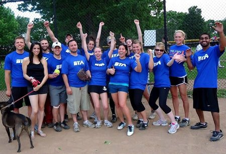 Bya Softball First Victory T-Shirt Photo