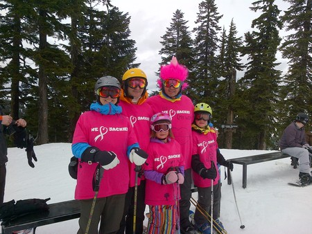 Hope On The Slopes For Cancer Research T-Shirt Photo