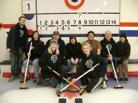 Curling With Sterling T-Shirt Photo