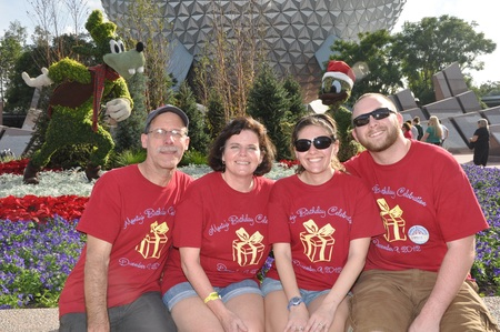 Birthday In Disney T-Shirt Photo