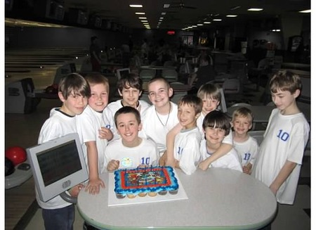 10th Birthday Bowling Party T-Shirt Photo