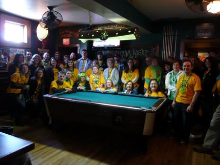 2013 Cystic Fibrosis Bar Crawl T-Shirt Photo