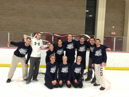 Broomball Champions! T-Shirt Photo