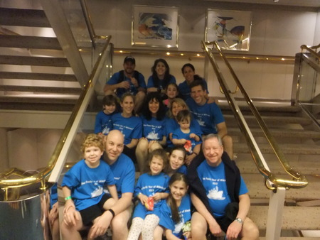 Kline Family Milestone Cruise 2013 T-Shirt Photo