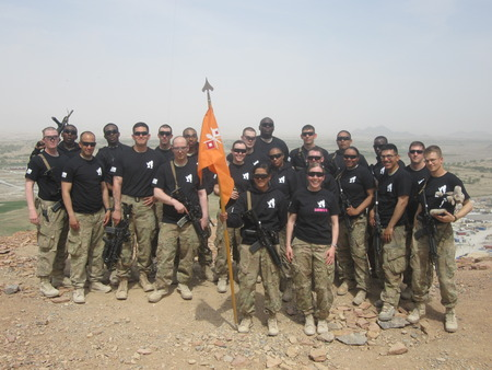 472d Sig Co In Afghanistan T-Shirt Photo