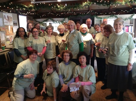 Webb Deane Stevens Garden Volunteers T-Shirt Photo