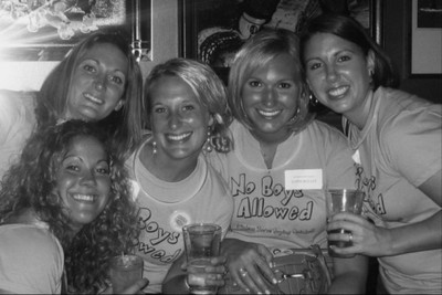 Girls Night Out...No Boys Allowed! T-Shirt Photo