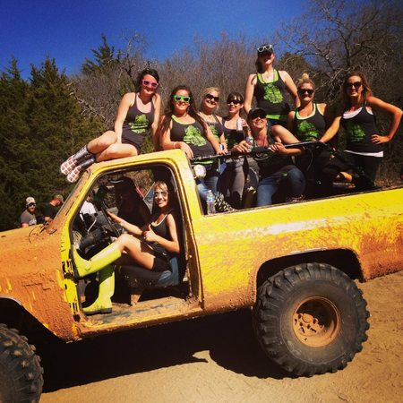 Gettin Twisted Off Road Girls T-Shirt Photo