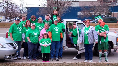 Mc Clanahan Clan St. Patrick's Day 2013 T-Shirt Photo