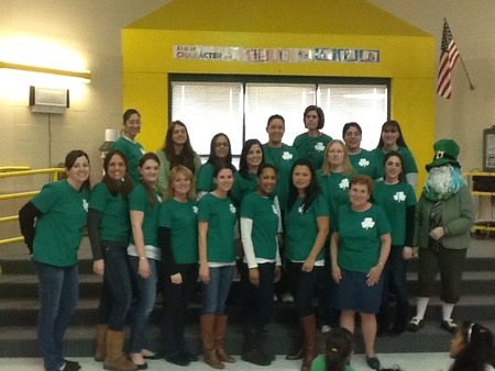 Second Grade Shamrocks T-Shirt Photo