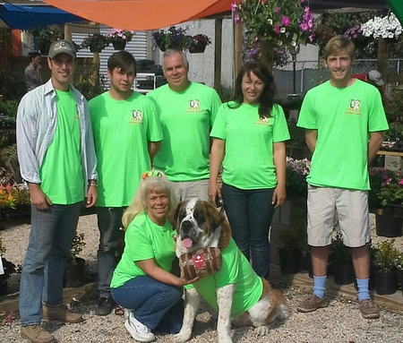 The Gang At Urban Roots Garden Center T-Shirt Photo
