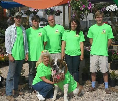 The Gang At Urban Roots Garden Center T-Shirt Photo