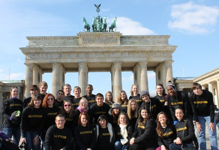 Texas Students Take On Germany! T-Shirt Photo