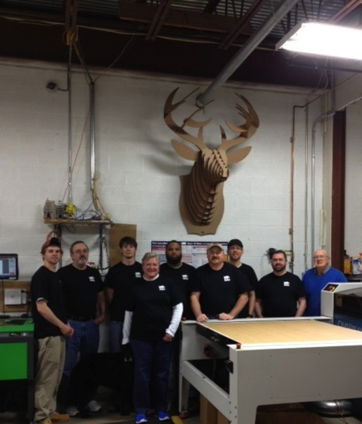 Cardboard Safari Crew T-Shirt Photo