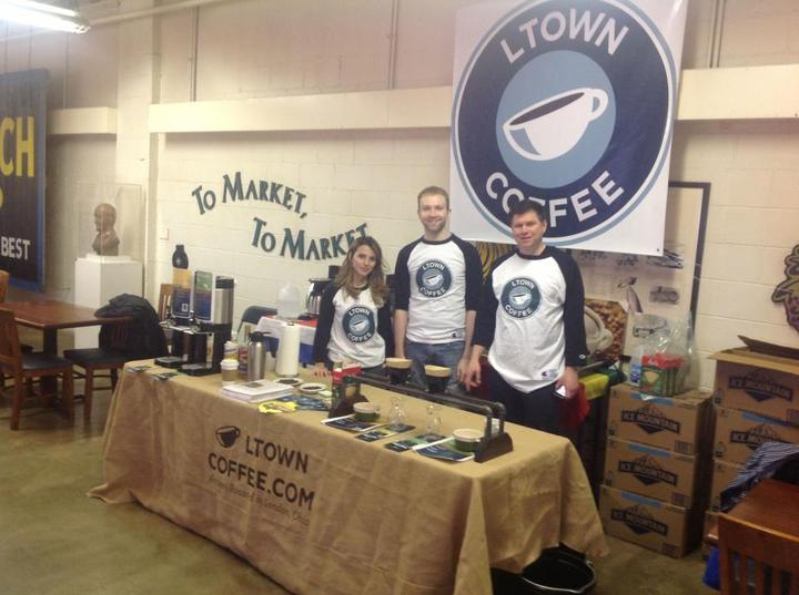 L Town Coffee Event T-Shirt Photo