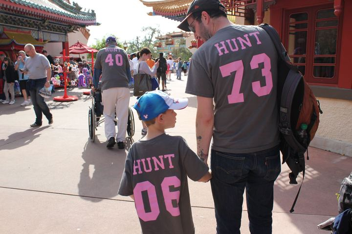 Three Generations Of Team Hunt T-Shirt Photo