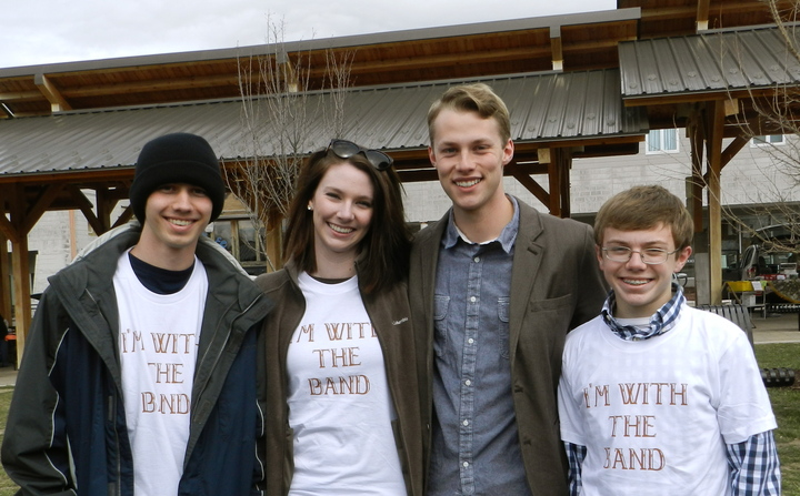 """I'm With The Band"" T-Shirt Photo"
