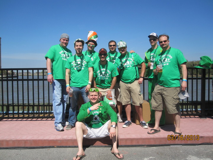 Bachelor Party In Savannah  T-Shirt Photo