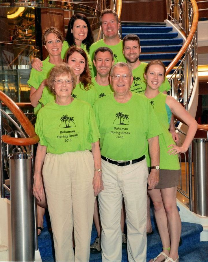 Family Bahamas Cruise T-Shirt Photo