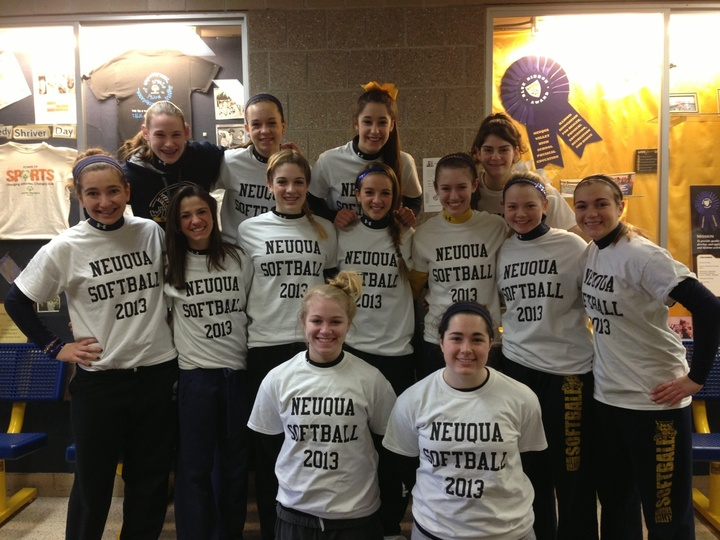 Neuqua Jv Softball 2013 Team Building T-Shirt Photo