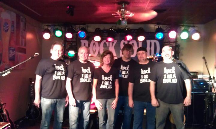 The Rock Solid Band  T-Shirt Photo