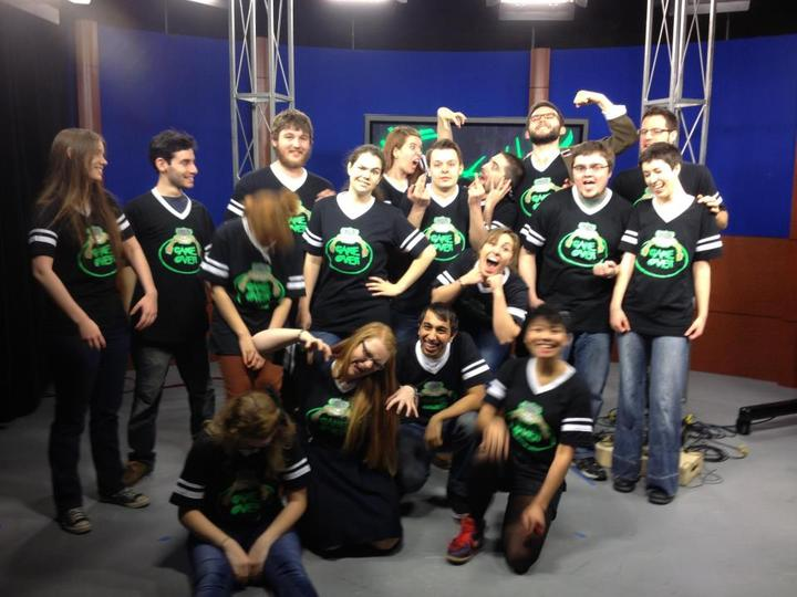 Cast And Crew Of Game Over T-Shirt Photo