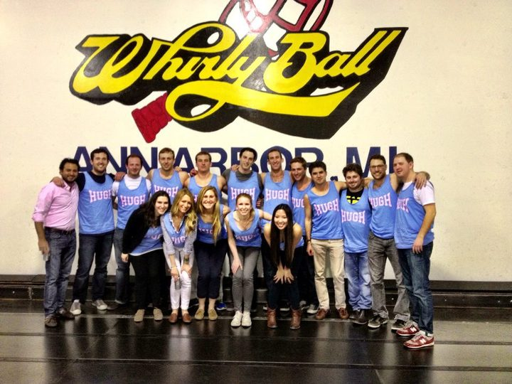 Hugh's Whirly Ball Birthday Extravaganza  T-Shirt Photo