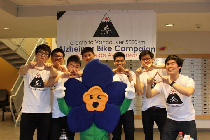 Alzheimer Bike Campaign T-Shirt Photo