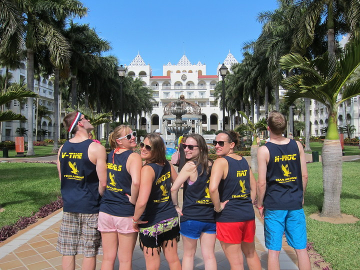 Team Awesome Showing Mexico How We Get Down T-Shirt Photo