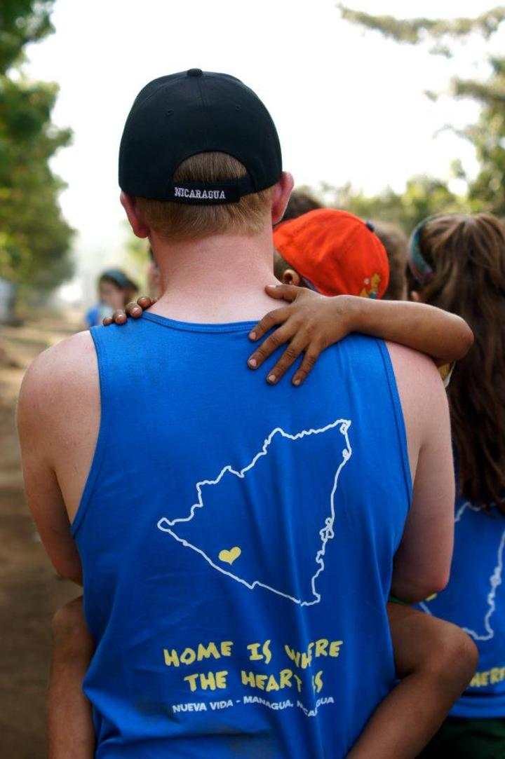 """Home Is Where The Heart Is..."" Nicaragua, Spring Break 2013 T-Shirt Photo"