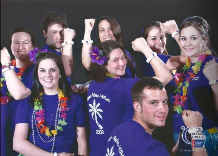 Relay For Life   Fighting For A Cure T-Shirt Photo