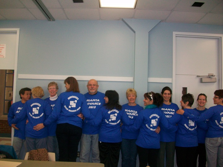 Advance: Teamwork Where Everyone Fits! T-Shirt Photo