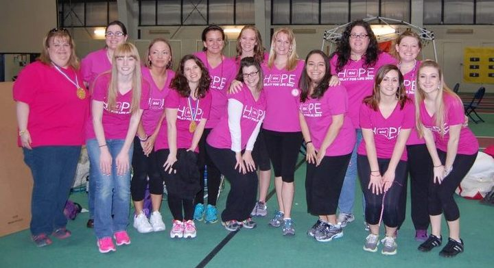 Relay For Life, Southern Maine Phi Mu Alumnae T-Shirt Photo