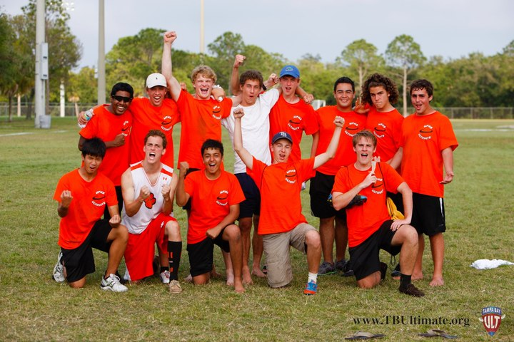 Winter Park Highschool Ultimate Takes Over Tampa T-Shirt Photo
