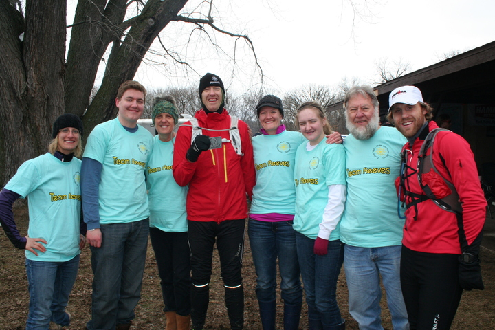 Team Reeves @ Zumbro 100 Ultra! T-Shirt Photo