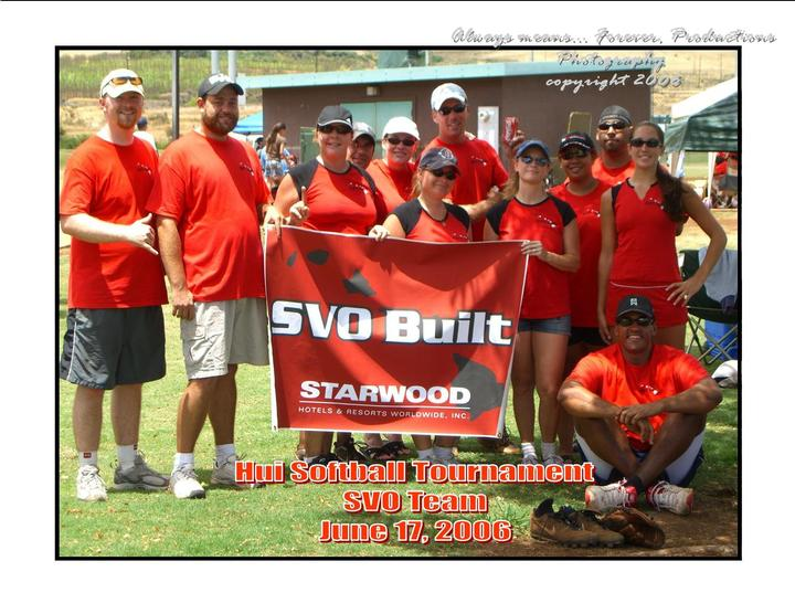 Svo Softball Team 2006 T-Shirt Photo