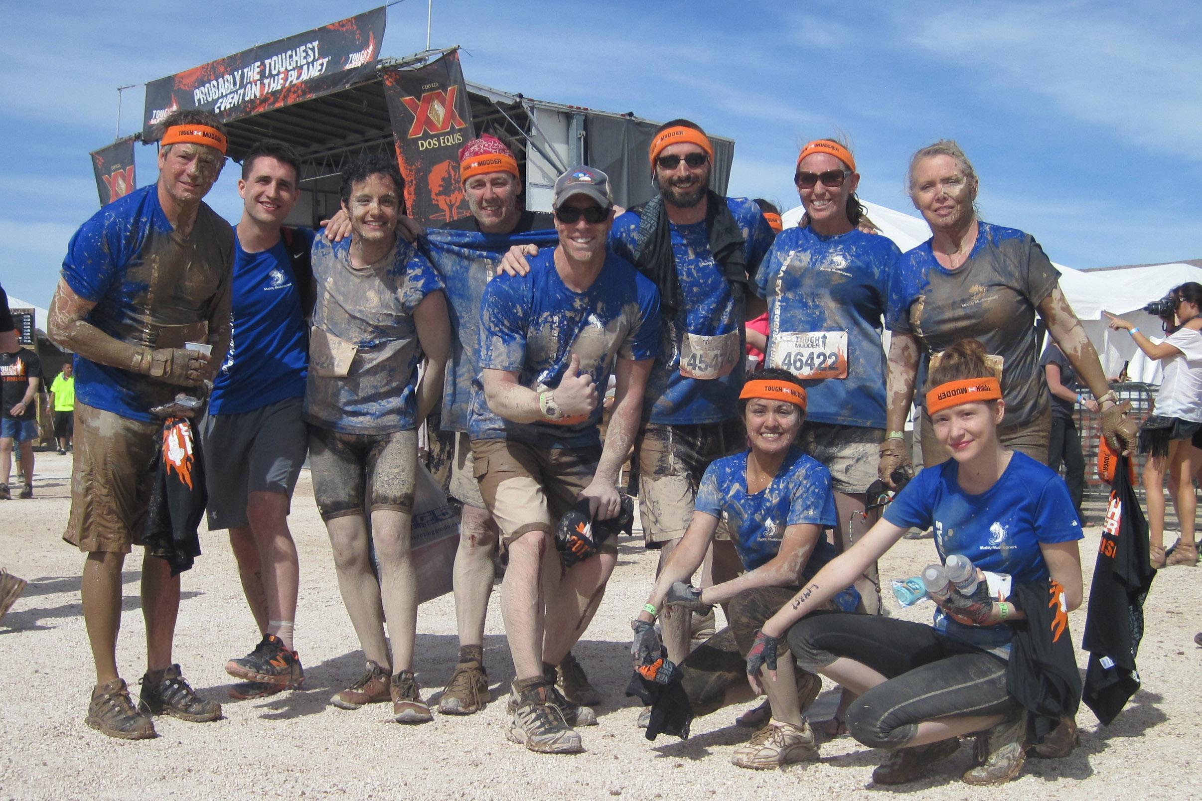 Design your own t shirt las vegas - Muddy Mudskippers Finish Tough Mudder Vegas T Shirt Photo