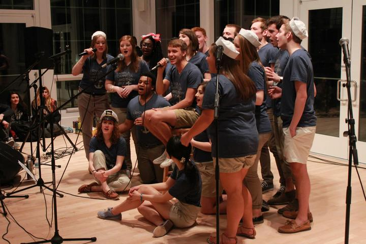 Loyolacappella Loved Our Custom Ink T Shirts At Our 2013 Lake Show T-Shirt Photo