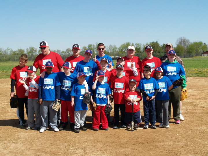 David Price Sponsors C.A.P.E.! T-Shirt Photo