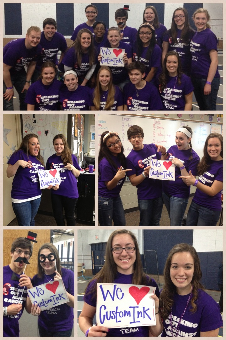 Oe Speech Relay For Life! T-Shirt Photo