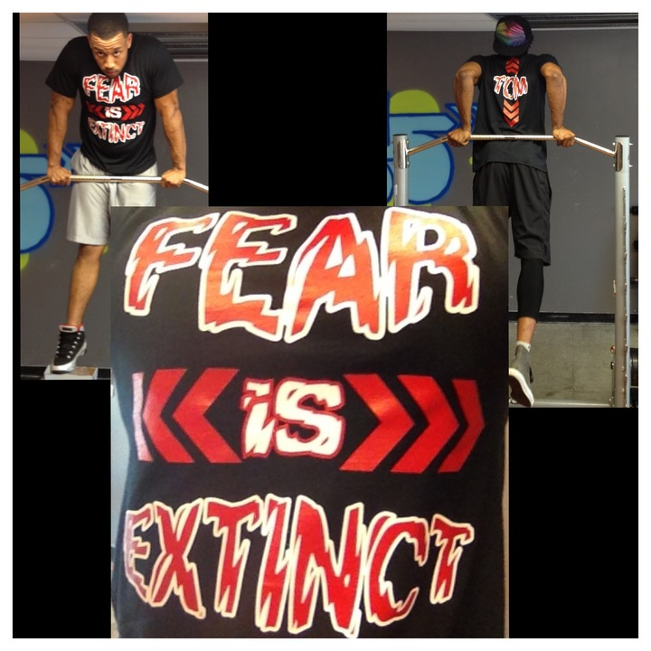 Fear Is Extinct Overcome  T-Shirt Photo