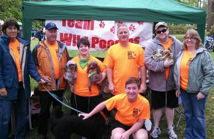 Team Wild Poodles: Walk Ms 2013 T-Shirt Photo