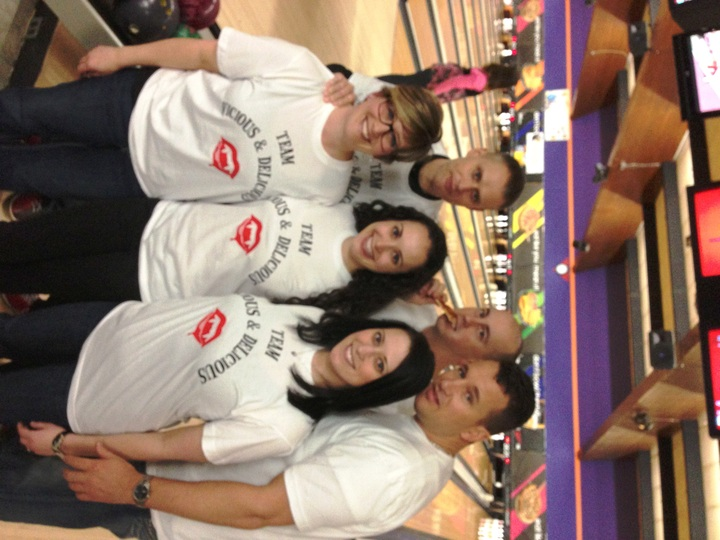 Team Vicious & Delicious Bowls For Charity! T-Shirt Photo