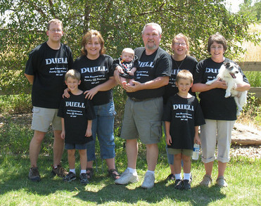 20th Anniversary Duell Family Reunion T-Shirt Photo