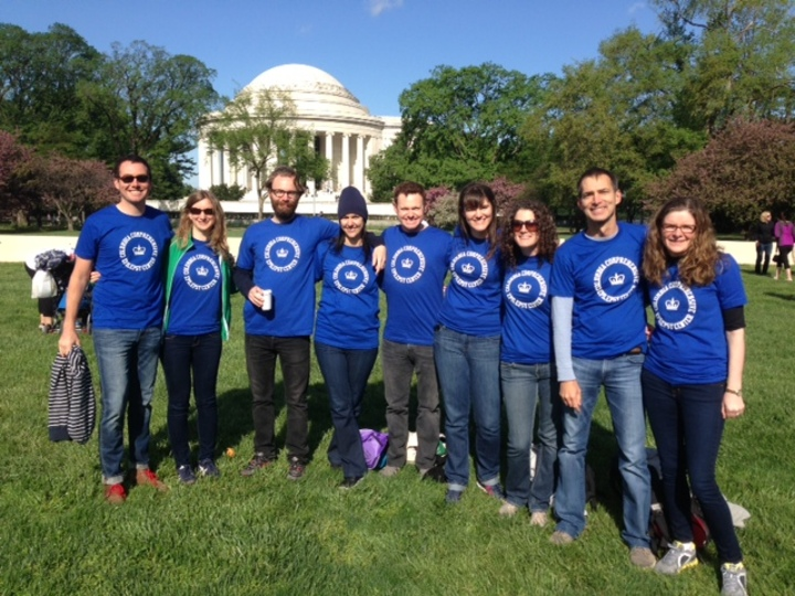 Epilepsy Walk 2013   At The Jefferson Memorial T-Shirt Photo
