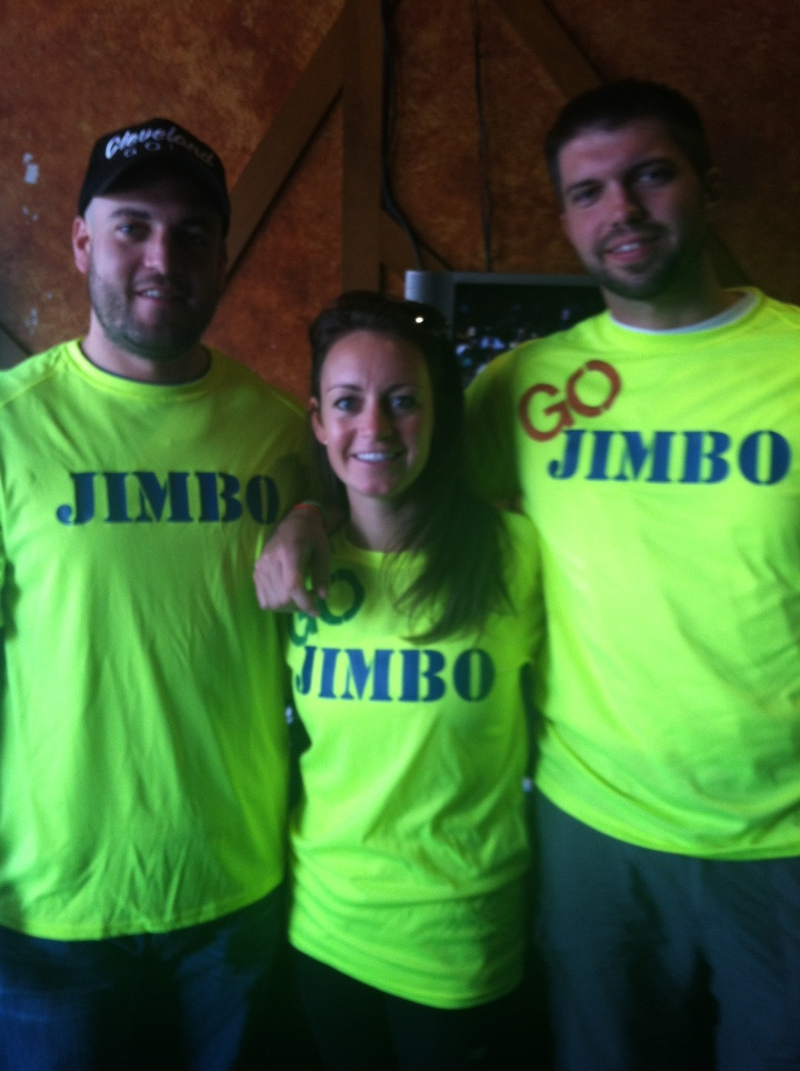 Cheering On Jimbo At The Boston Marathon 2013 T-Shirt Photo